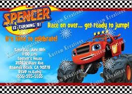 Aababcceed Digital Art Gallery Blaze And The Monster Machines ... Monster Contruck Invitation Invite Pics Of Truck Fresh Birthday Invitations Personalized Invitation Boy By Uprint Etsy Party Ideas At In A Box 50 Off Sale 2nd Svg And Printable Clipart To Make Nice 94 In Design With Frozen Elsa Anna Trucks Food Jam Supplies Monster Truck Birthday Truck Birthday Party Invites Tonys 6th Bday