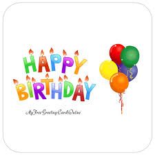 Animated Happy Birthday Card With Balloons Birthday Banner Flashing Candles