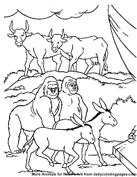 God Made The Animals Coloring Page AZ Pages