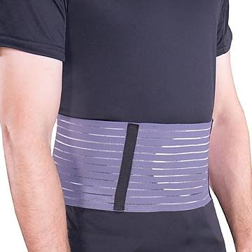 OTC Select Series Abdominal Hernia Belt - Large, Grey