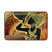 Amazoncom Feddiy Vintage Indian Adrican Women Painting