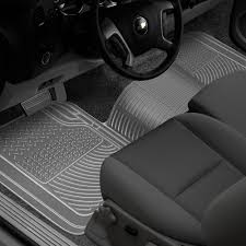 Rubber Queen® 69006 - Truck 1st Row, Over The Hump Clear Floor Mat
