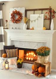 Fall Decorating Inspiration For Your Mantel