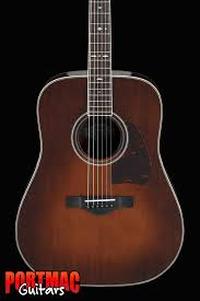 IBANEZ AVD10 BVS ARTWOOD VINTAGE Thermo Aged ACOUSTIC GUITAR