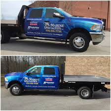 100 Truck Specialties Wrap World On Twitter Another Truck Added To Marine
