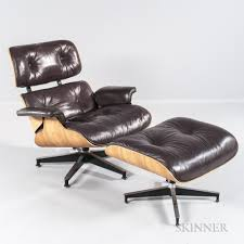 Charles And Ray Eames Lounge Chair And Ottoman | Sale Number 3045B ... Vitra Eames Lounge Chair Ottoman Walnut White Herman Miller By Hille 1st European Edition Special Black Design Seats Buy Cheap Aeron And Barcelona Chairs Inside The Black Market Charles Ray Sale Number 3045b Sessel Auellungsstck Santos Palisander Couch Potato Company 1956 Designer And Outdoor Fniture Exquisite With Lovely Authentic For