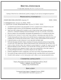 Sample Social Worker Assistant Resume Template Format Free Download