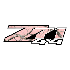 100 Pink Camo Trucks Z71 Stickers Chevy Stickers Truck Decals