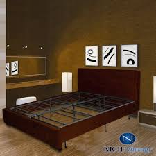 Platform Metal Bed Frame by Night Therapy Platform Metal Bed Frame Foundation Set Smartbase