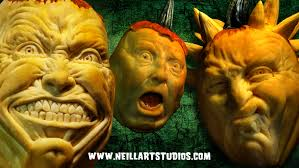 Snickers Halloween Commercial 2012 by Jon Neill U0027s Wonderfully Wild Pumpkin Carvings