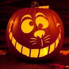 Disney Pumpkin Carving Patterns Villains by Best 25 Cheshire Cat Pumpkin Ideas On Pinterest Halloween