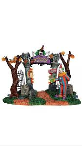 Lemax Halloween Village Displays by Lemax Carnival Gate Spooky Town Collection Halloween Decor Indoor