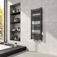 meykoers badheizkörper 1800x500x30mm mittelanschluss 780 watt anthrazit handtuchtrockner handtuchwärmer design heizkörper für bad heizung radiator