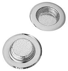 sink strainer 2 pack glaree stainless steel kitchen filter mesh