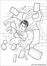 Superman Coloring Pages Photos