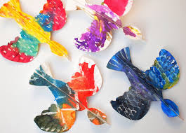 Colorful Paper Plate Birds Beautiful Art And Craft Project For Kids Of All Ages