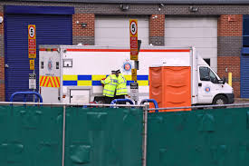 100 Nearby Truck Stop Essex Lorry Deaths 39 Migrants Found Naked And Foaming At