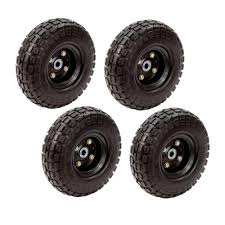 100 Hand Truck Tires Wheel Gorilla Cart No Flat Replacement Heavy Duty S