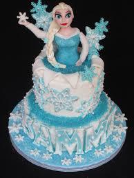 Frozen Cake Elsa Fondant Cake