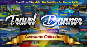 Awesome Business Travel Banner Ads