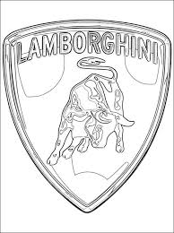 Printable Lamborghini Coloring Pages Online 59307