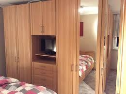 schlafzimmer kleiderschrank system luxor buche nachbildung