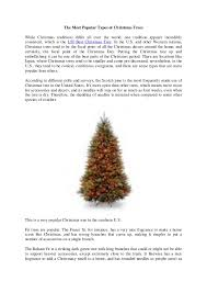 National Tree Company Review The Most Popular Types Of Christmas Trees While Traditions Differ All Over World