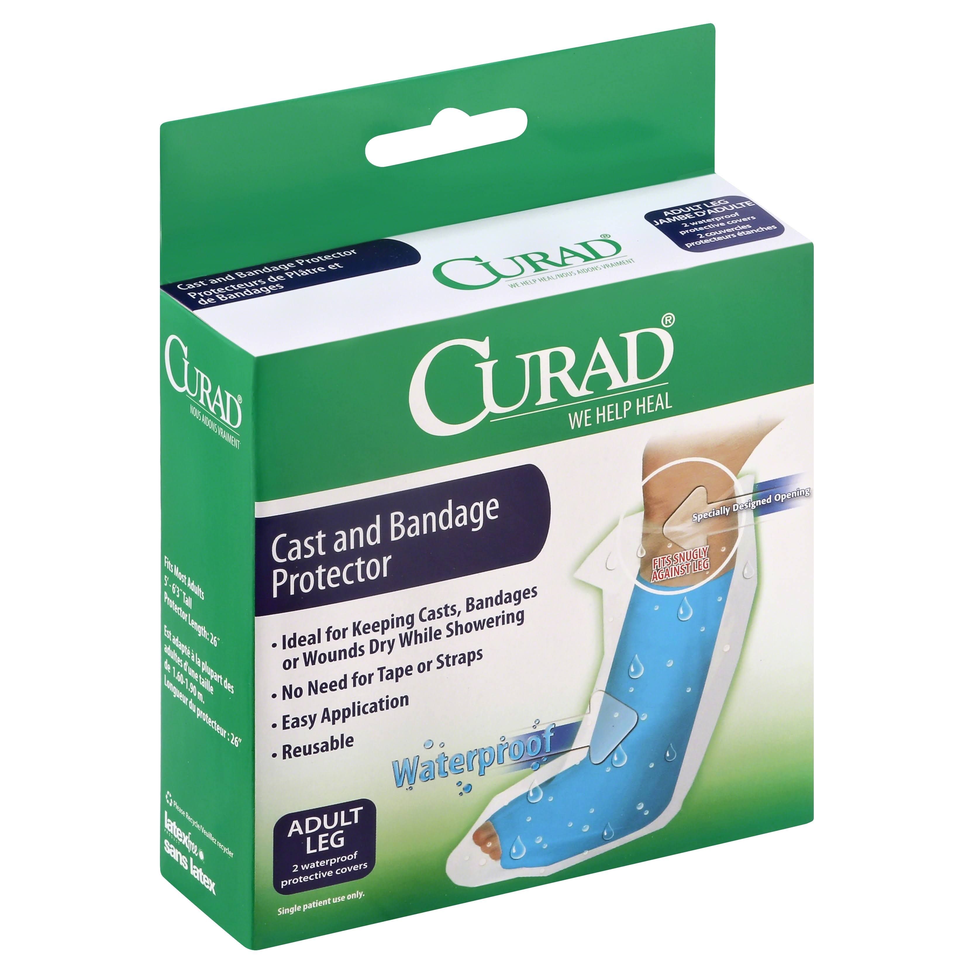 Curad Cast And Bandage Protector - Adult Leg