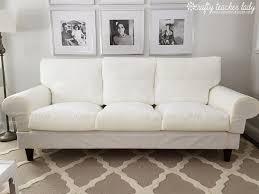 Patio Cushion Slipcovers Walmart by Decorations Comfort White Loveseat Slipcover