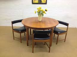 Ebay Chairs And Tables by Mid Century Extending Teak Mcintosh 1960 U0027s Dining Table 4 Tuck
