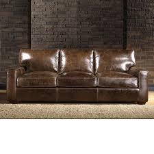 Rocky Mountain Leather 90 Inch Sofa
