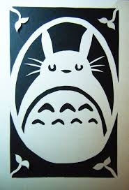 My First Paper Cutting Totoro