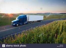 100 Eastern Truck And Trailer Commercial Truck Driving Though Wheat Fields Of Eastern Washington
