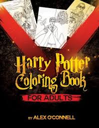 Harry Potter Coloring Book For Adults Adult Books