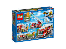 LEGO FIRE LADDER TRUCK - 60107 • Thomas Moore