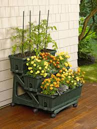 Tiered Patio Planter Awesome and 3 Tier Mobile Planter for Porch