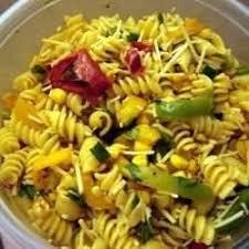 recette salade de pâtes estivale épicée toutes les recettes
