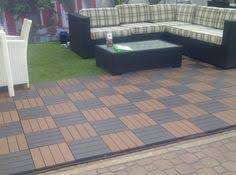 can deck tiles be put right on the ground can eco deck tiles