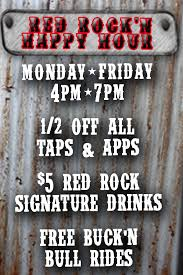 Halloween Express Hours Milwaukee Wi by Red Rock Saloon Specials