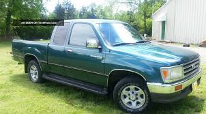 1998 Toyota T100 - Information And Photos - ZombieDrive P51 Verts 1998 Toyota Tacoma On Whewell For Sale In Montego Bay St James Cars Myssmilez808 Xtra Cabpickup Specs Photos Space Cab Manchester My Truck Build Dog Adventures Mixed Emotions Pre Runner T100 Metal Design Fabrication Jackson Wy Toyota Tacoma At Friedman Used Bedford Heights Limited 4wd Xcab V6 Factory Sunroof Super Custom Trucks Mini Truckin Magazine 98 Lifted With 2015 4runner Wheels Wrapped Coopers Rz Engine Wikipedia