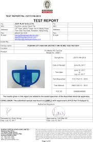 bureau veritas hong kong 2490000 pj maska rc cat car test report 5217 146 0513 fcc cert