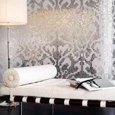 silver glass plate wall decoration mosaic floor tile murals
