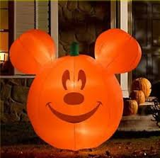 Halloween Airblown Inflatables Uk by Disney Halloween Pumpkin Mickey Mouse Airblown Inflatable Lawn