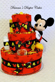 Mickey Mouse Red Black Yellow