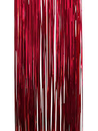 Gold Christmas Tree Tinsel Icicles by Red Lametta Tinsel Icicles 300 Strands Christmas Decorations