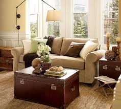 Pottery Barn Decorating Style Living Room Designs Of Goodly Inspiration