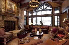 Living Room Rustic Living Room