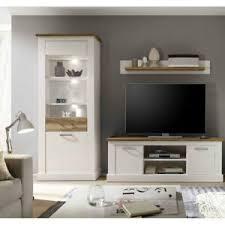 details zu wohnzimmer wohnwand vitrine lowboard regal tv schrank möbel pinie hell