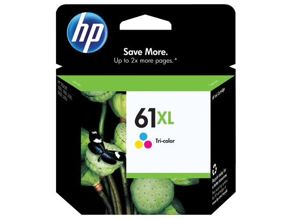 HP 61XL High Yield Original Ink Cartridge - Tri-color