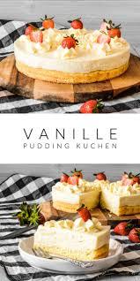 vanille pudding kuchen carol recetteschocolat en 2020
